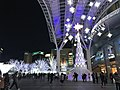 Night view in front of Hakata Station 20180102-2.jpg