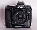 Nikon N90s w MB10 grip and AF 35mm f 2 lens (9242041085).jpg