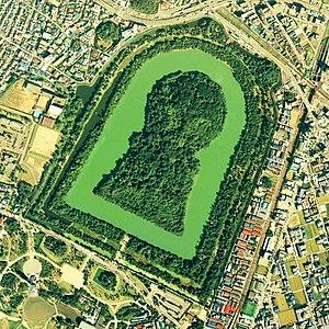 History of Japan - Daisenryō Kofun, Osaka