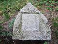 Nisko - pamiątkowy kamień w parku miejskim-1.jpg