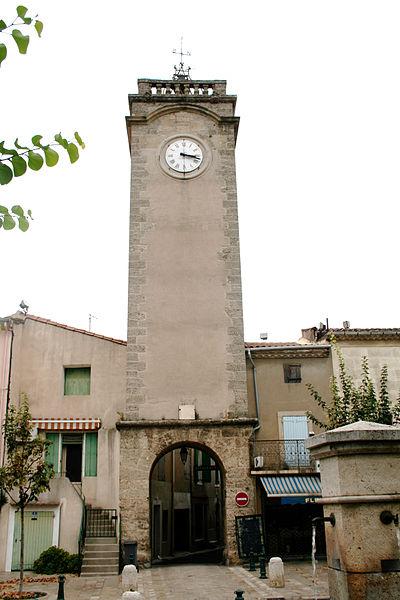 Nissan-lez-Enserune (Hérault) - beffroi