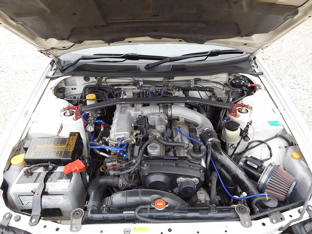 File Nissan Skyline R34 Engine 1 Jpg Wikimedia Commons