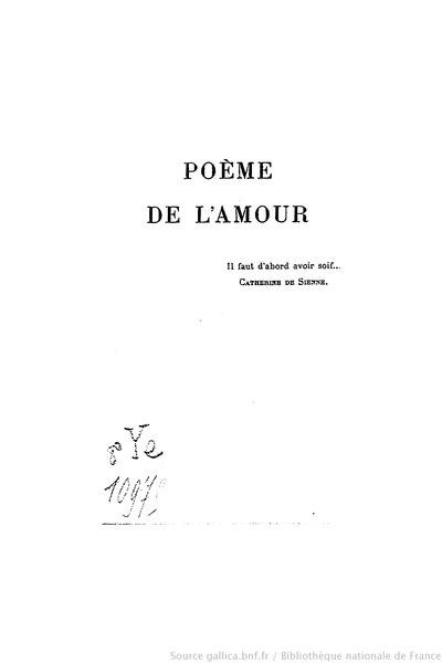 File:Noailles - Poème de l'amour, 1924.djvu