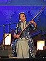 Nodira Pirmatova, chant et luth dutar Ouzbékistan, Concert Bardic Divas Les poétesses de lAsie Centrale Kazakhstan et Ouzbékistan, Festival Les Orientales (Saint-Florent-Le-Vieil).jpg