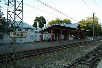Nõmme - Image: Nomme train station