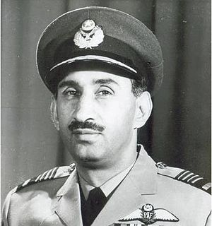 Awan (tribe) - Air Marshal Nur Khan, Commander in Chief of the Pakistan Air Force, 1965–69, Governor of West Pakistan, 1969–70