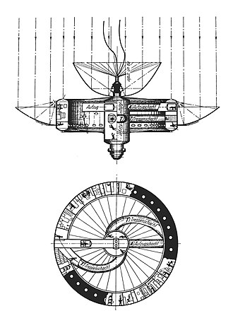 Space station - Rotating space station envisioned by Herman Potočnik in The Problem of Space Travel (1929)
