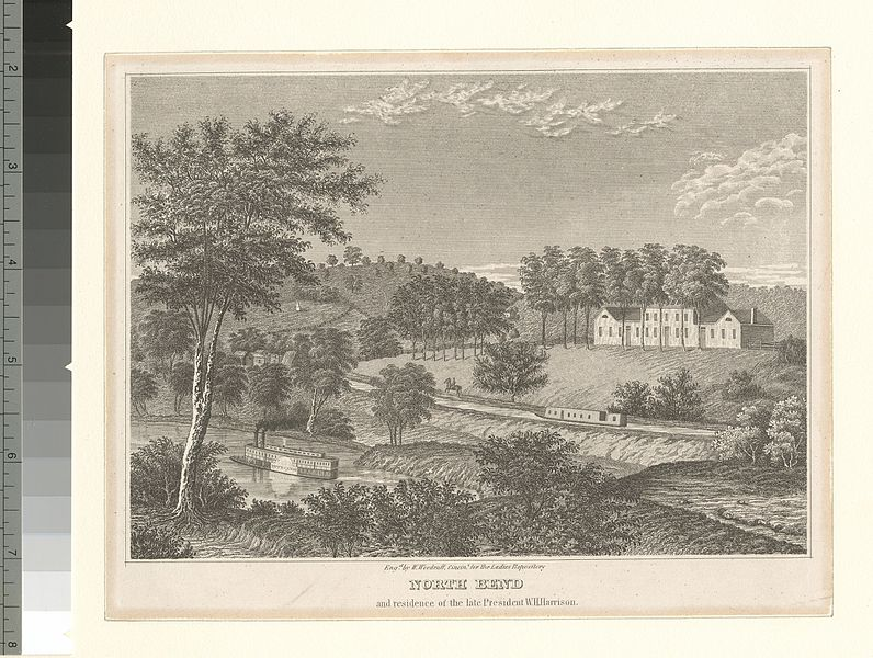 File:North Bend and residence of the late President William Harrison (NYPL b12610217-424279).jpg