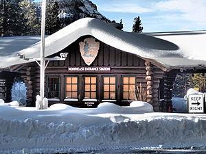 Northeast Entrance Station - January 2014