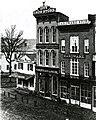 Northeast corner of West Main Street at Rose, Kalamazoo, c1860 p-1253 (17027810076).jpg