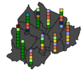 Northern Ireland Council Election 2014 District Electoral Areas members.png