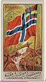 Norway, from Flags of All Nations, Series 1 (N9) for Allen & Ginter Cigarettes Brands MET DP831953.jpg