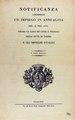 Notificanza concernente un impiego in annualità, 1830 - 374.tif