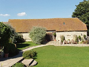 Notley Tythe Barn. This barn is used for weddi...