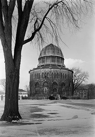 Nott Memorial - Nott Memorial in 1962