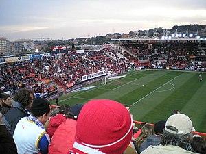 Nou Estadi de Tarragona - Image: Nou estadi gol sud