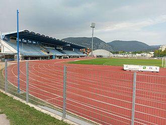 Nova Gorica Sports Park - Image: Nova Gorica Stadium