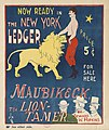 Now ready in the New York ledger, Maubikeck, the lion-tamer. - 10871668515.jpg