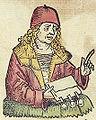Nuremberg chronicles f 241v 4 (Leonhardus aretinus).jpg