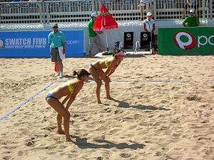 Emilia Nyström - The Nyström twins at PAF Open 2007 in Mariehamn, Åland. Emilia at the right, wearing a pink cap.