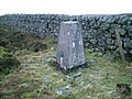 O.S. Trig point on Cardunneth Pike - geograph.org.uk - 624796.jpg