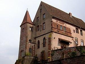 Oberhof (château) - Image: OBERHOFSAVERNE