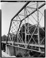 OBLIQUE VIEW OF HIP AND TRUSS SYSTEM - McGirt's Bridge, Spanning Cape Fear River, Elizabethtown, Bladen County, NC HAER NC,9-ELITO.V,1-6.tif
