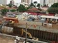 Obras anti enchente no córrego sul em Sertãozinho chegando no Savegnago Supermercado na avenida Antônio Paschoal, a grande obra irá acabar com um antigo problema de enchentes e alagamentos nesta - panoramio (4).jpg