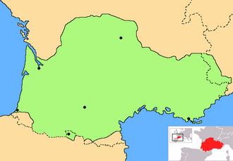 Occitanie - The historic cultural area of Occitania