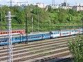 Odstavné nádraží Praha-jih, jednotky 451.jpg