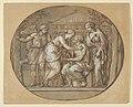 Oedipus before the Temple of the Furies between his Daughters Antigone and Ismene MET DP838611.jpg