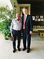 Oerther and Sir Royston Hopkin KCMG Grenada hotelier.jpg