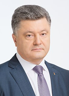 Petro Poroshenko Ukrainian businessman and politician