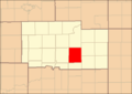 Ogle County Illinois Map Highlighting Pine Rock Township.png