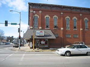 Jacobs Block - Image: Ogle County Oregon Il Jacobs Block 1