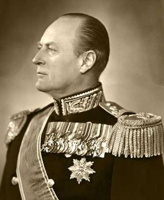 Olav V of Norway - King Olav in 1957