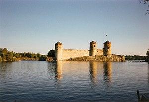 Savonlinna - Image: Olavinlinna in 1989 2