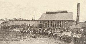Old Dominion Glass Company - Old Dominion Glass Company factory, Alexandria, circa 1907