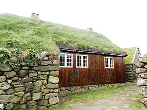 Koltur - Image: Old House in Koltur, June 2014