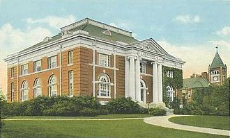 Durham, New Hampshire - Hamilton Smith Hall c. 1920