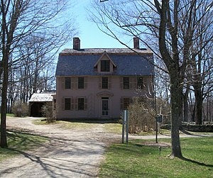 The Old Manse - The Old Manse, as seen from Monument Street