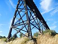 Old Milwaukee Railroad trestle in Tekoa (36887718012).jpg
