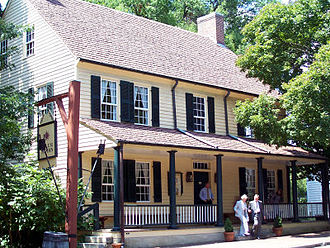 Winston-Salem, North Carolina - The Tavern at Old Salem, est. 1784