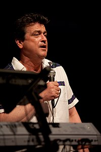 Les McKeown bei der Radio-F-Oldienacht im April 2010 in der Nürnberger Meistersingerhalle