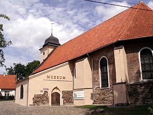 Olsztynek - Former Protestant church