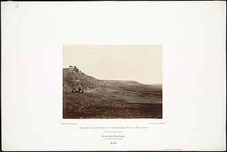 Carlile Formation - Image: On the Great Plains, Kansas, 294 miles west of Missouri River. (Boston Public Library)