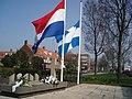 Oorlogsmonument aan de Meppelerstratweg Herdenking.JPG