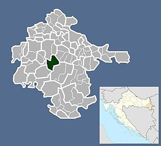 Privlaka, Vukovar-Srijem County - Image: Općina Privlaka