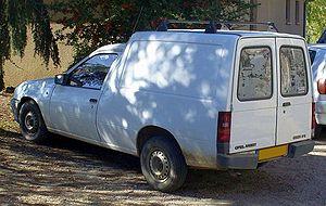 Opel Combo - Opel Kadett Combo 1.7 D (1986–1989), rear