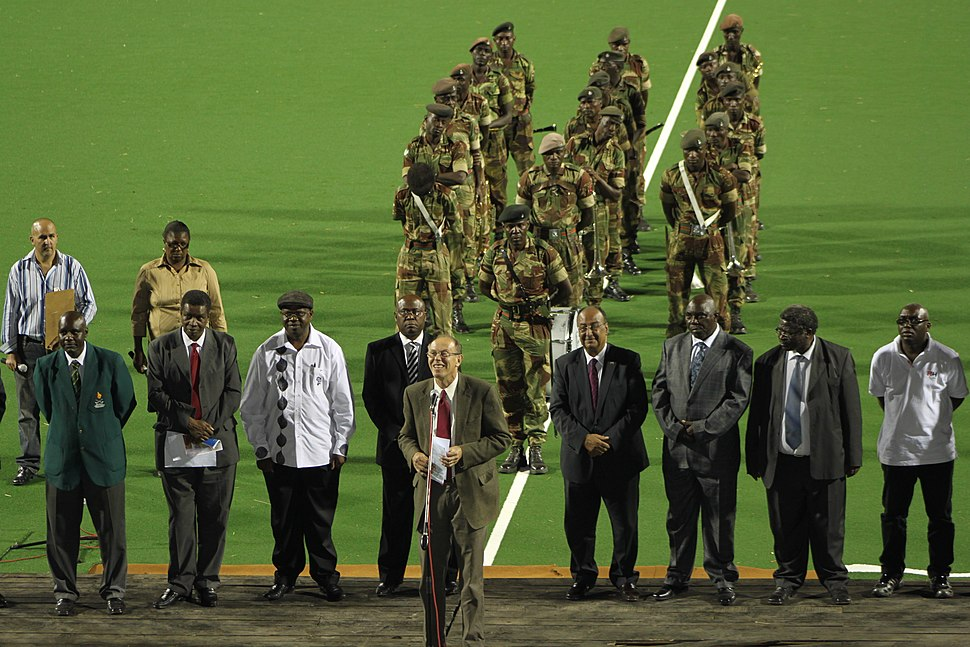 Opening ceremony of the African Olympic Hockey Qualifiers 2011
